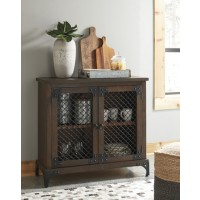Havendale - Brown/Black - Accent Cabinet