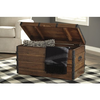 Kettleby - Brown - Storage Trunk