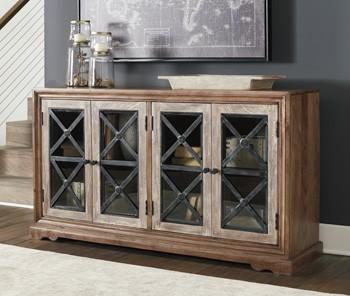 Ellisburg - Antique Brown - Accent Cabinet