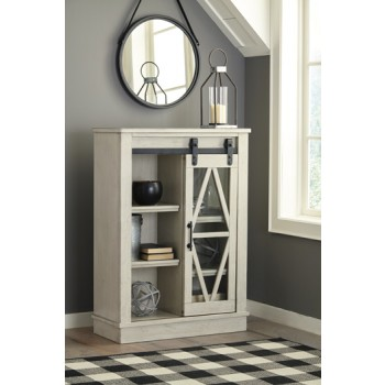 Bronfield - White - Accent Cabinet