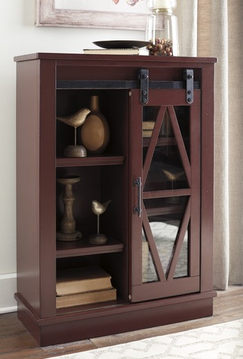 Bronfield Red Accent Cabinet A4000134 Accent