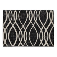 Avi - Gray/White - Large Rug