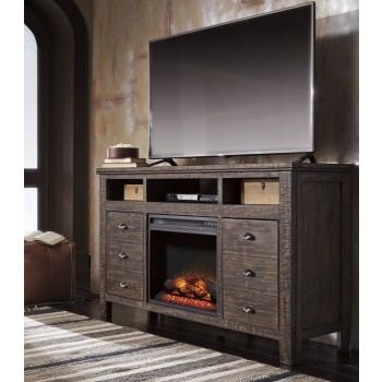 Trudell TV Stand with Fireplace