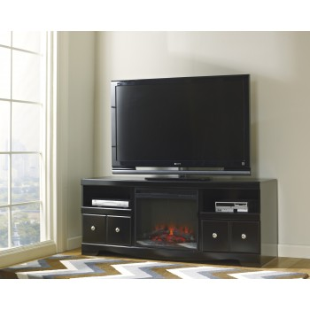 Shay TV Stand with Fireplace