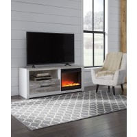 Evanni TV Stand with Fireplace
