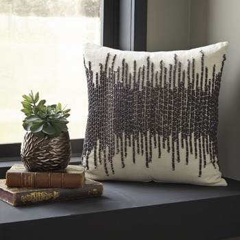 Warneka - Charcoal/Cream - Pillow