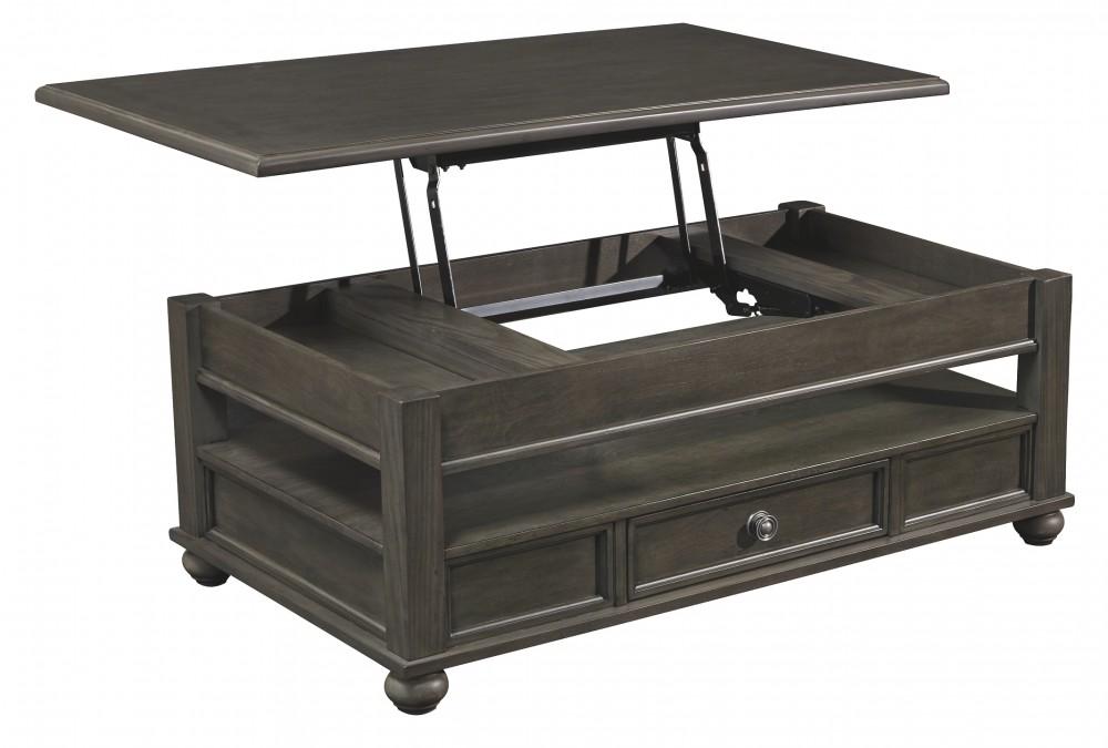 Pleasing Devenstead Dark Gray Lift Top Cocktail Table Machost Co Dining Chair Design Ideas Machostcouk