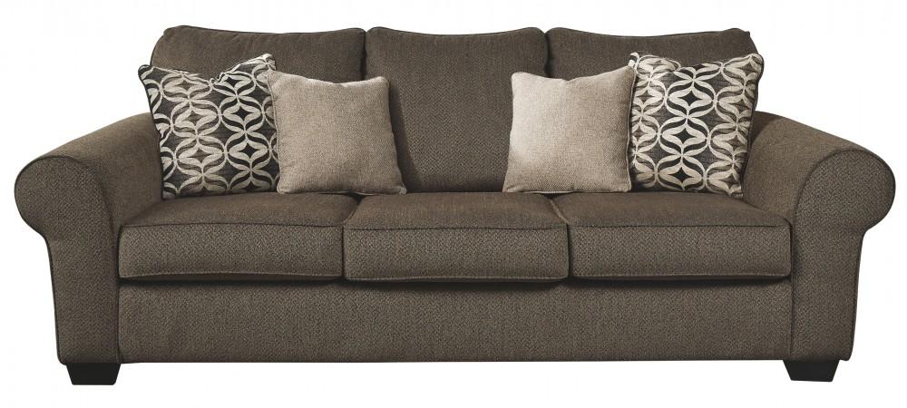 Nesso - Walnut - Queen Sofa Sleeper