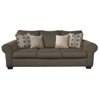 Nesso - Walnut - Queen Sofa Sleeper