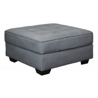 Filone - Steel - Oversized Accent Ottoman