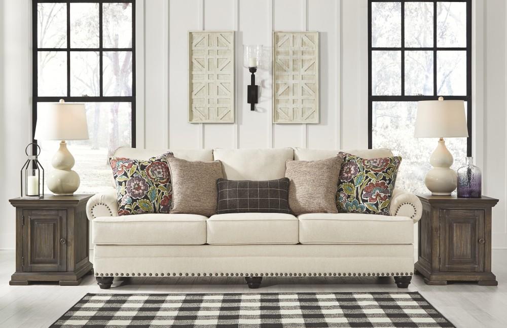 Harrietson - Shell - Queen Sofa Sleeper