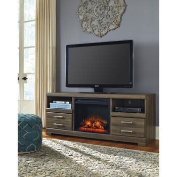 Frantin TV Stand with Fireplace