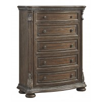 Charmond - Brown - Five Drawer Chest