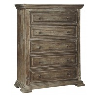 Wyndahl - Rustic Brown - Five Drawer Chest