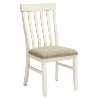 Bardilyn - Antique White/Brown - Dining UPH Side Chair (2/CN)