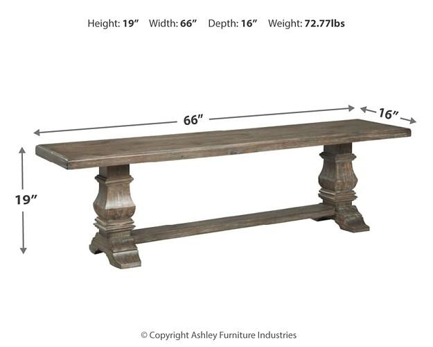 Wyndahl - Rustic Brown - Dining Room Bench