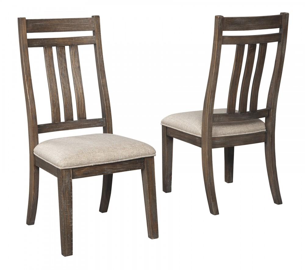 Wyndahl - Rustic Brown - Dining UPH Side Chair (2/CN)