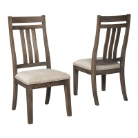 Wyndahl - Rustic Brown - Dining UPH Side Chair (2/CN)
