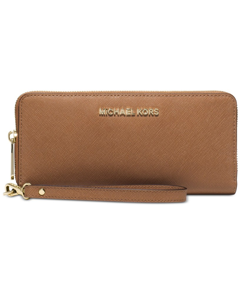 Michael Kors Jet Set Travel Travel Continental Wristlet