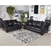 40502-Betrillo-Black-sofa-loveseat