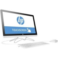 HP All-in-One 24-E058CY Desktop Intel Core i3-7100U 7th Gen 2.4GHz, 4GB RAM, 1TB HDD 23.8in