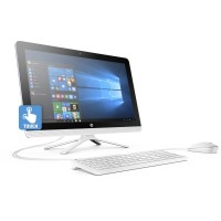 HP 22-b013w Snow White All-in-One PC with 21.5
