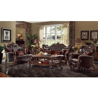 Empire Brown 2pc Living Room - Loveseat, Sofa