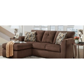 A.W.F. Kelly Chocolate Living Room Group