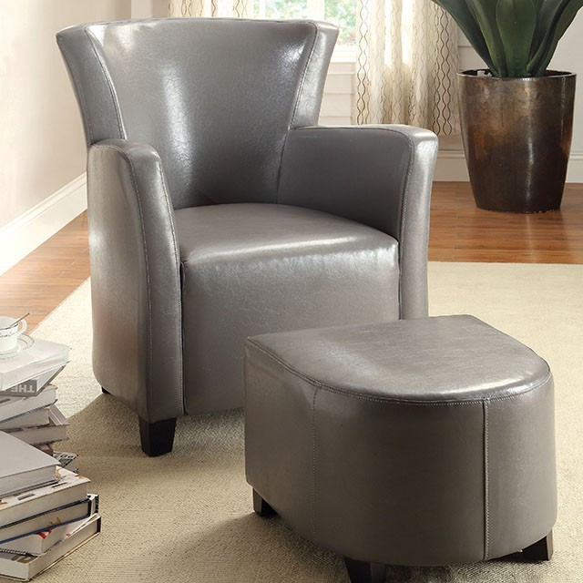 Excellent Half Moon Bay Accent Chair W Ottoman Beatyapartments Chair Design Images Beatyapartmentscom