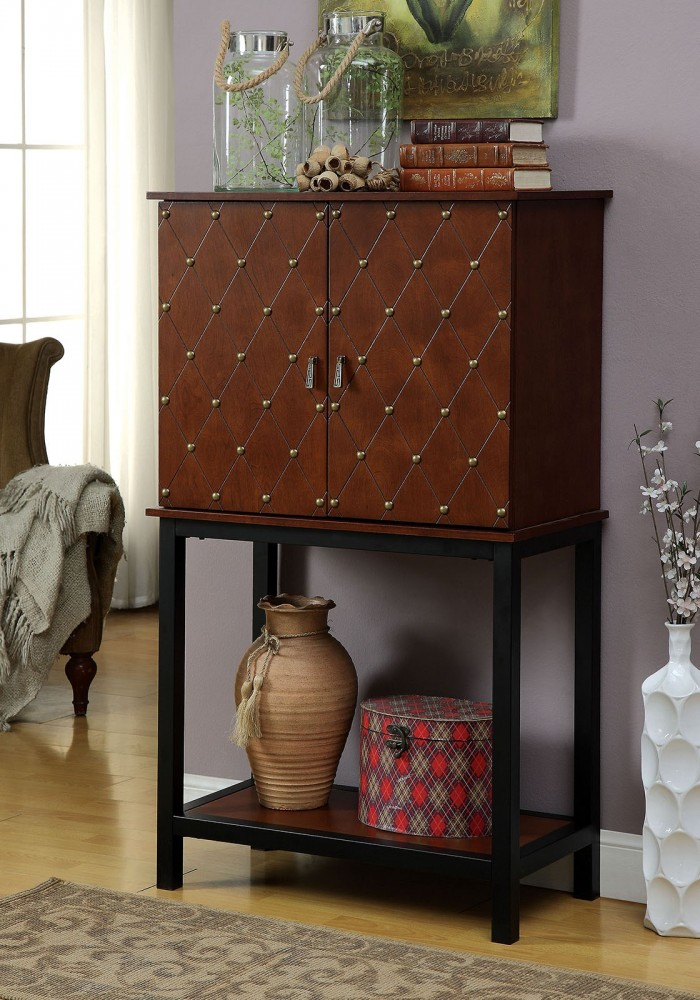 Catlin Wine Cabinet Cm Ac334 Wine Rack Landeros Furniture