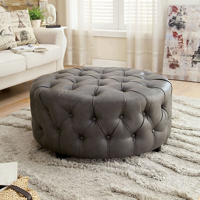Incredible Latoya Round Ottoman Forskolin Free Trial Chair Design Images Forskolin Free Trialorg
