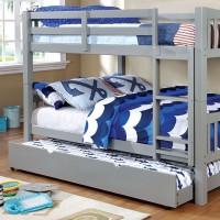 Cameron - Full/Full Bunk Bed, Gray