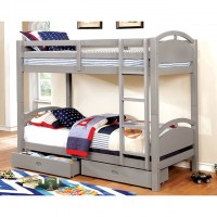 Beja - Twin/Twin Bunk Bed W/ 2 Drawers