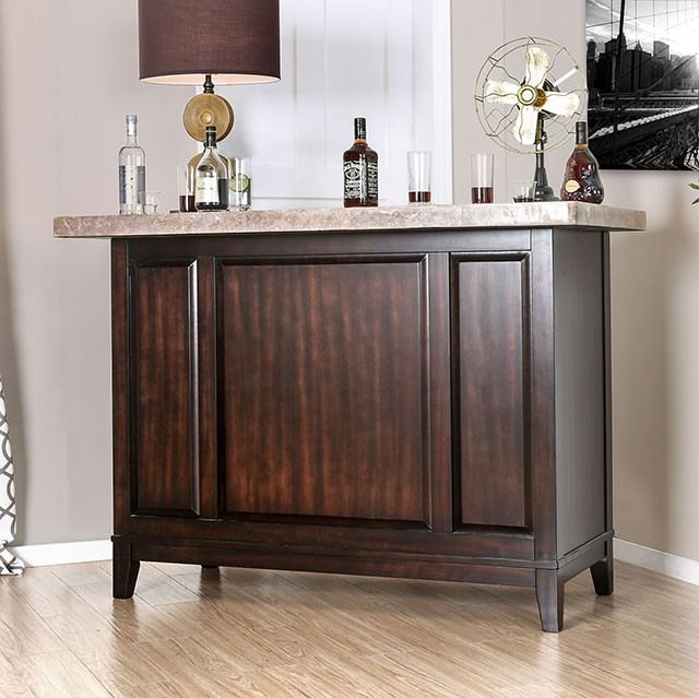 Bismarck - Bar Table W/ Genuine Marble Top