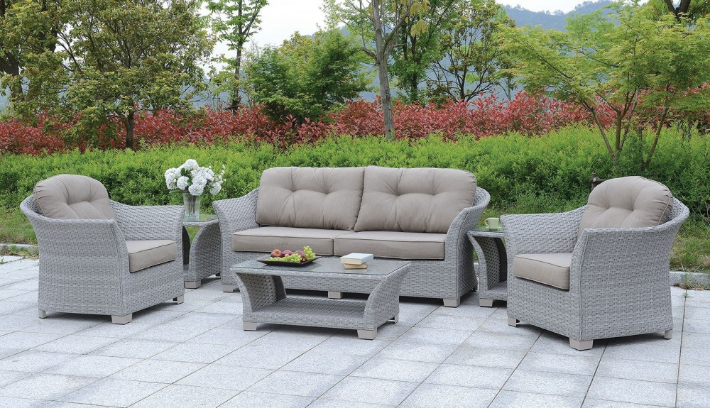 Bowbells 6 Pc Patio Set W Coffee Table 2 End Tables