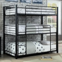 Olga I - Twin Triple Decker Bed