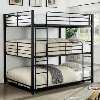 Olga I - Full Triple Decker Bed