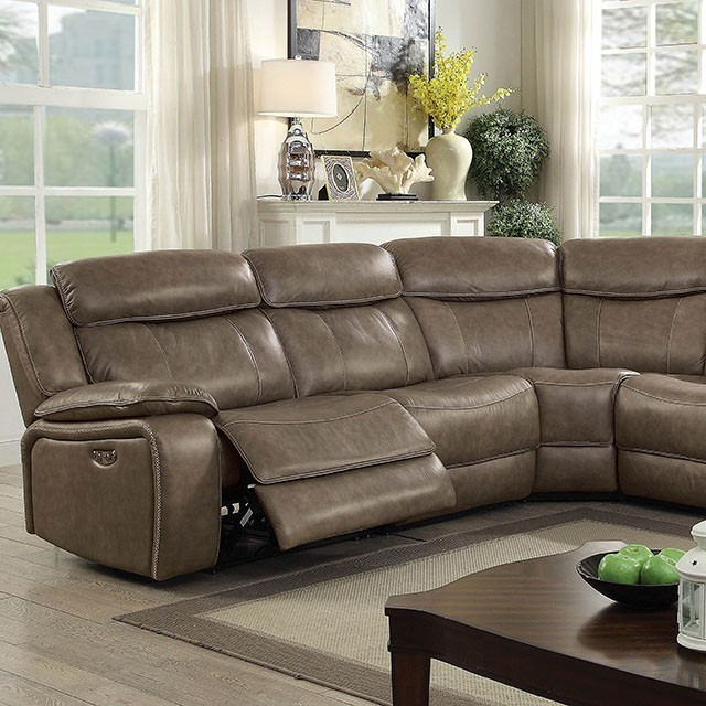 the best attitude b3474 3aebd Page - Sectional W/ Console Table