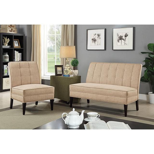 Deandra - Bench | CM-BN6544BG | Benches | Inhome Furniture ...
