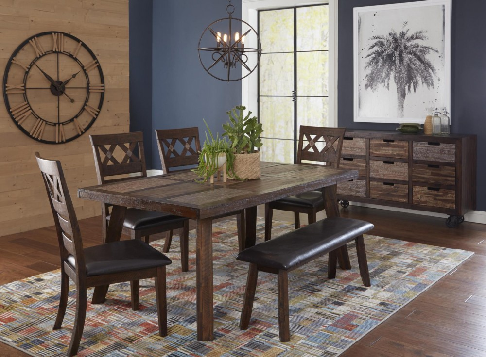Painted Canyon 1601-72 5PC Dinette
