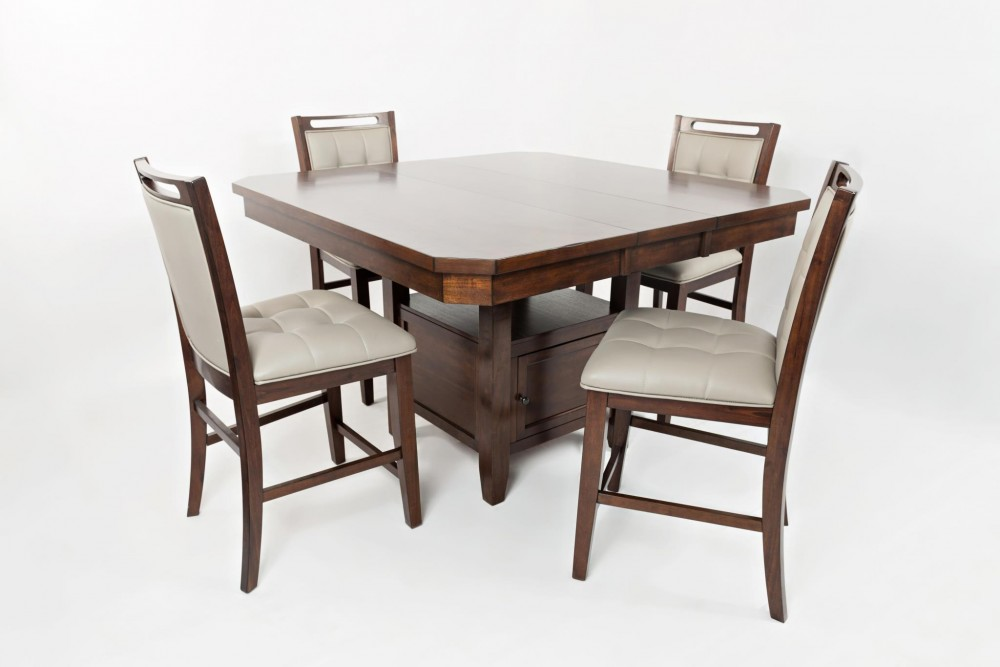 Manchester 1672-54 5PC Counter Height Dinette