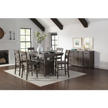Madison County 1700-72 5PC Counter Height Dinette