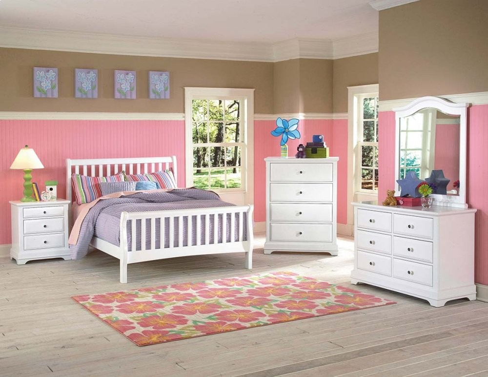 Bayfront 3/3 T Captain's Bed - 6 Drwr Youth Dresser