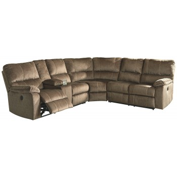 Urbino - Urbino 3-Piece Reclining Sectional with Power