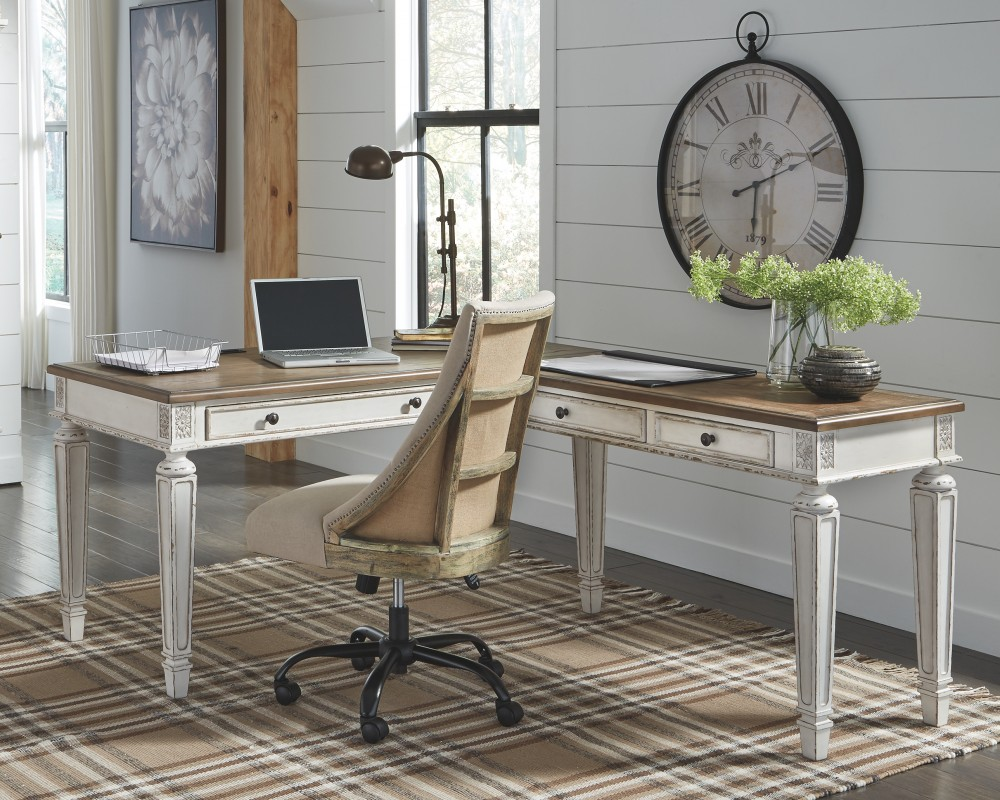 Realyn - 2-Piece Home Office Desk
