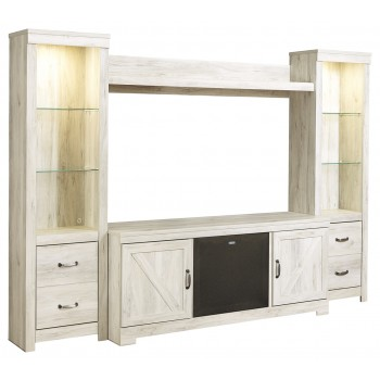 Bellaby 4-Piece Entertainment Center with Audio