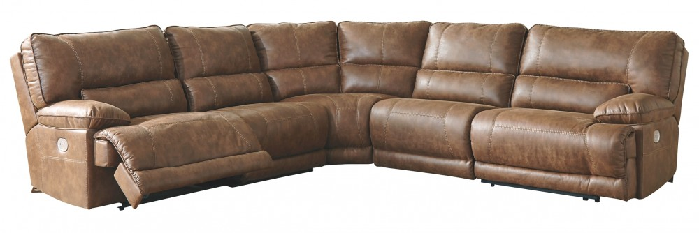 Thurles - Thurles 5-Piece Reclining Sectional with Power