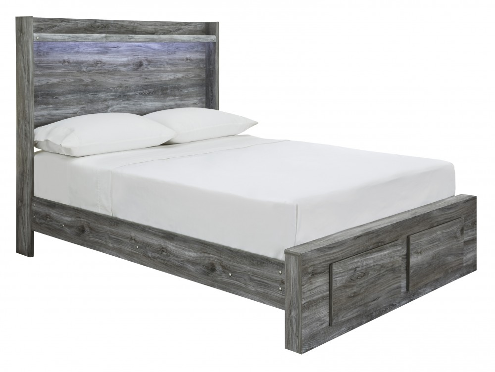 Baystorm - Baystorm Full Panel Bed with Storage