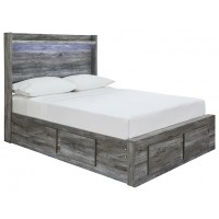 Baystorm - Full Panel Bed with 4 Storage Drawers
