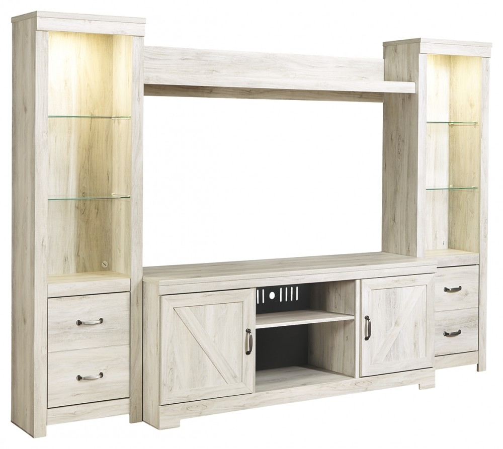 Bellaby - 4-Piece Entertainment Center